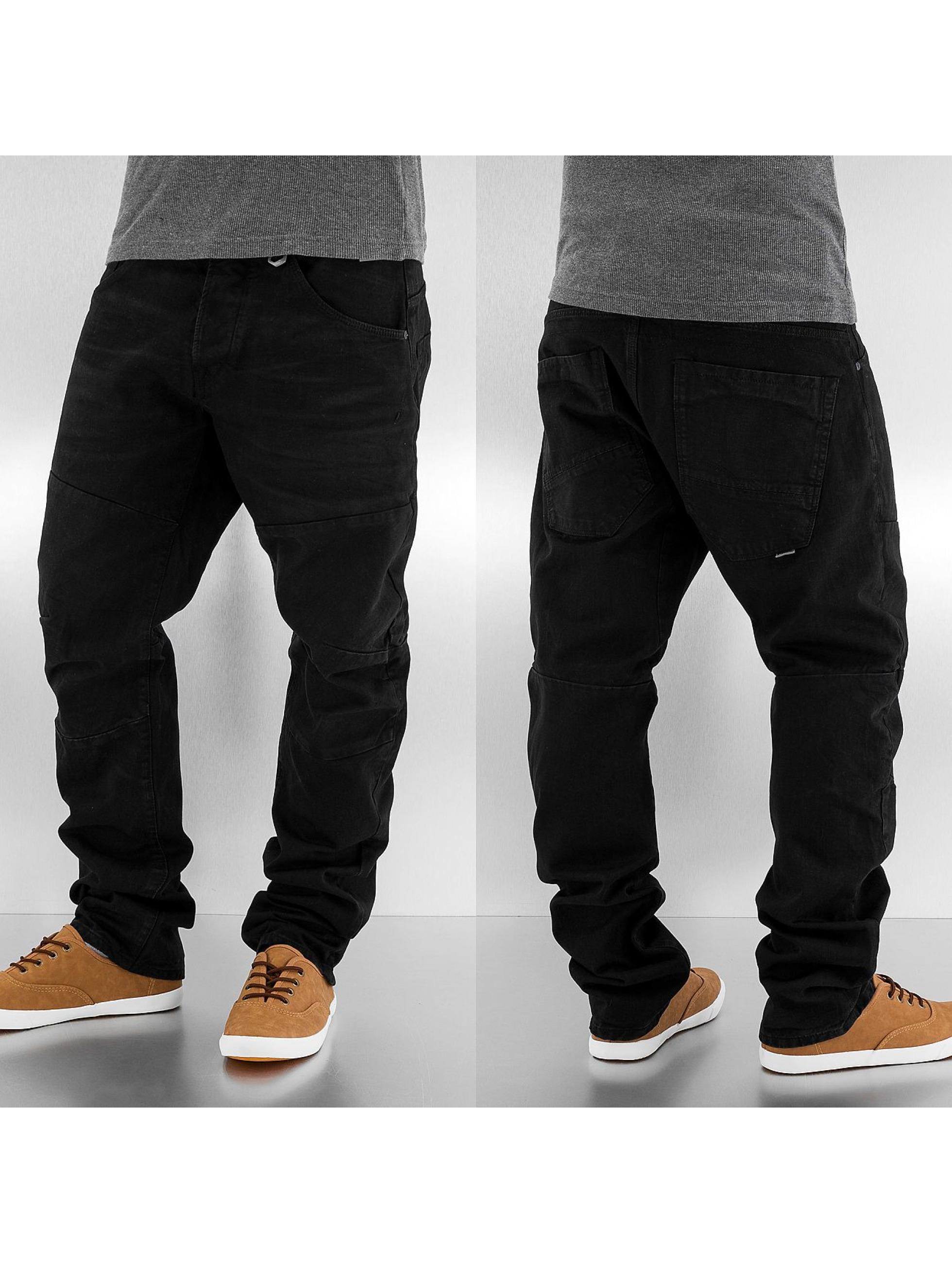 jack jones jeans straight fit jeans stan david in schwarz. Black Bedroom Furniture Sets. Home Design Ideas