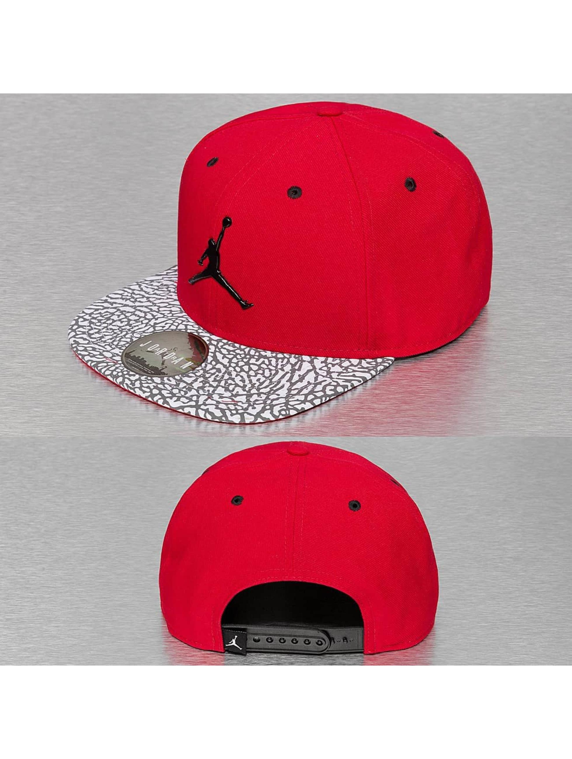 Gimnasio Baños Jordan:Jordan Gorra / Gorra Snapback Branded en rojo