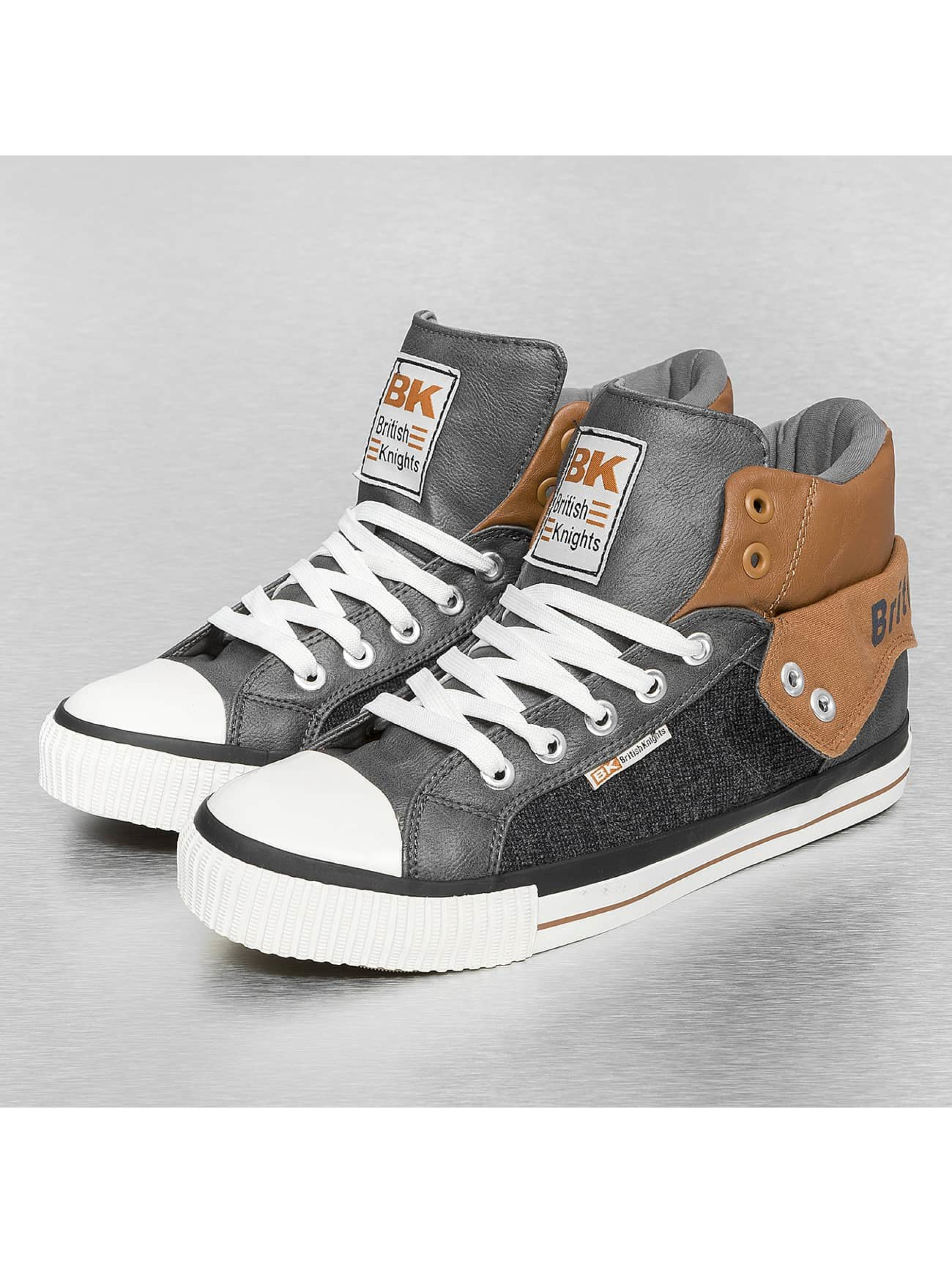 british knights schuhe sneaker roco tweed pu in grau. Black Bedroom Furniture Sets. Home Design Ideas
